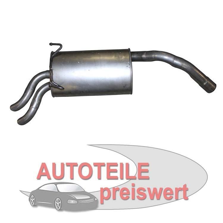 Endschalldämpfer Citroen Fiat Lancia Peugeot
