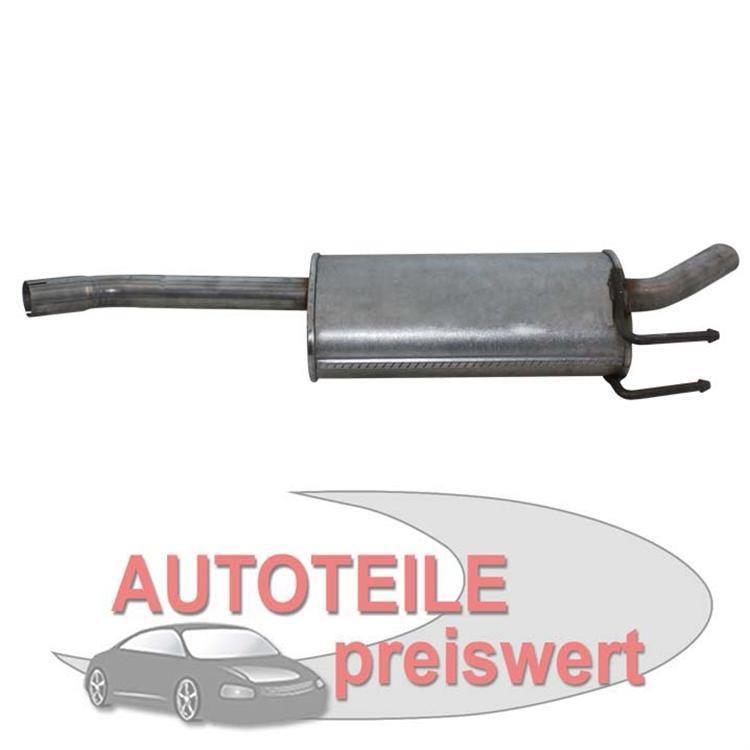 Endschalldämpfer Fiat Multipla 186 1.6 100 16V 1999-