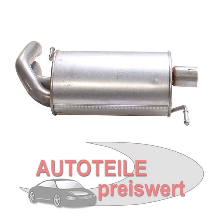 Bosal Endschalldämpfer 154-317 im Autoteile Preiswert Shop kaufen und sparen!