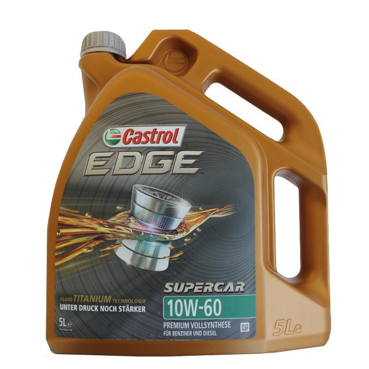 Castrol EDGE Supercar 10W-60 5 Liter
