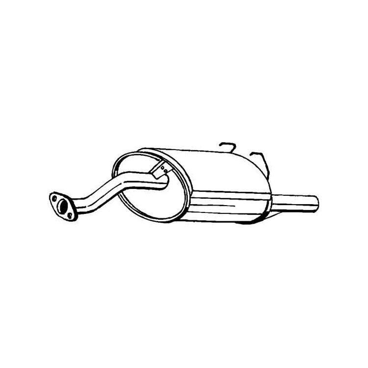 Endschalldämpfer 163-729 im Autoteile Preiswert Shop kaufen und sparen!
