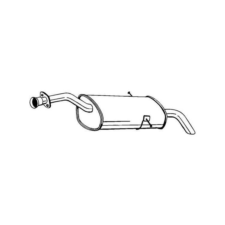 Endschalldämpfer 170-239 im Autoteile Preiswert Shop kaufen und sparen!