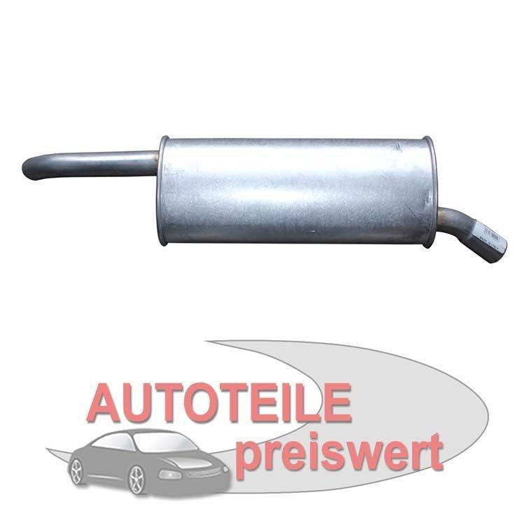 Endschalldämpfer Opel Astra F Kadett E Kasten Kombi