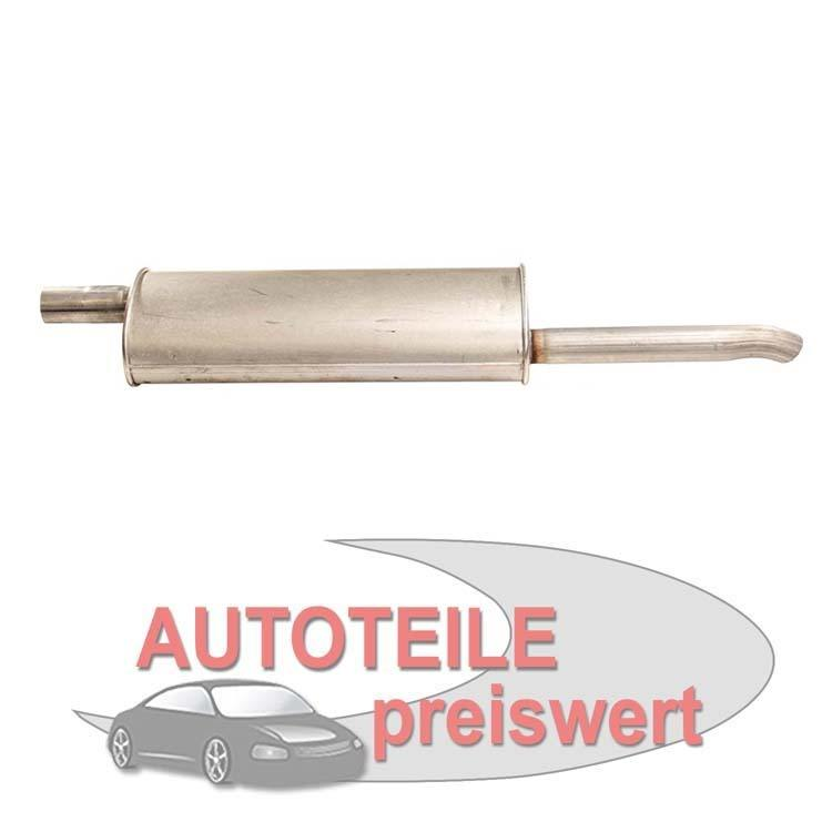 Endschalldämpfer Opel Astra F T92 Kadett E T85 Stufenheck