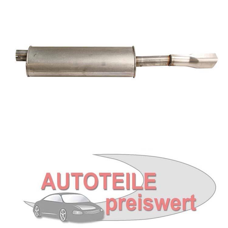 Endschalldämpfer Opel Astra