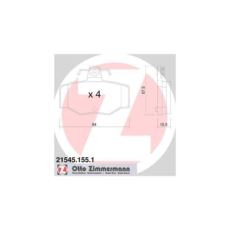 Zimmermann Bremsscheiben + Bremsbeläge