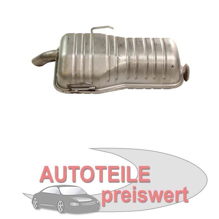 Endschalldämpfer Peugeot 106