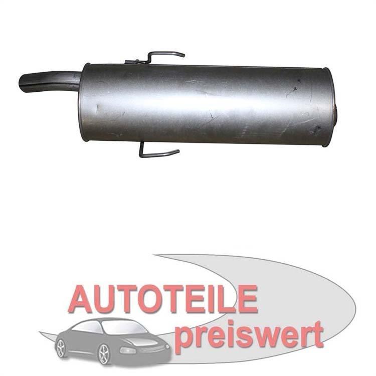 Endschalldämpfer 190-805 im Autoteile Preiswert Shop kaufen und sparen!