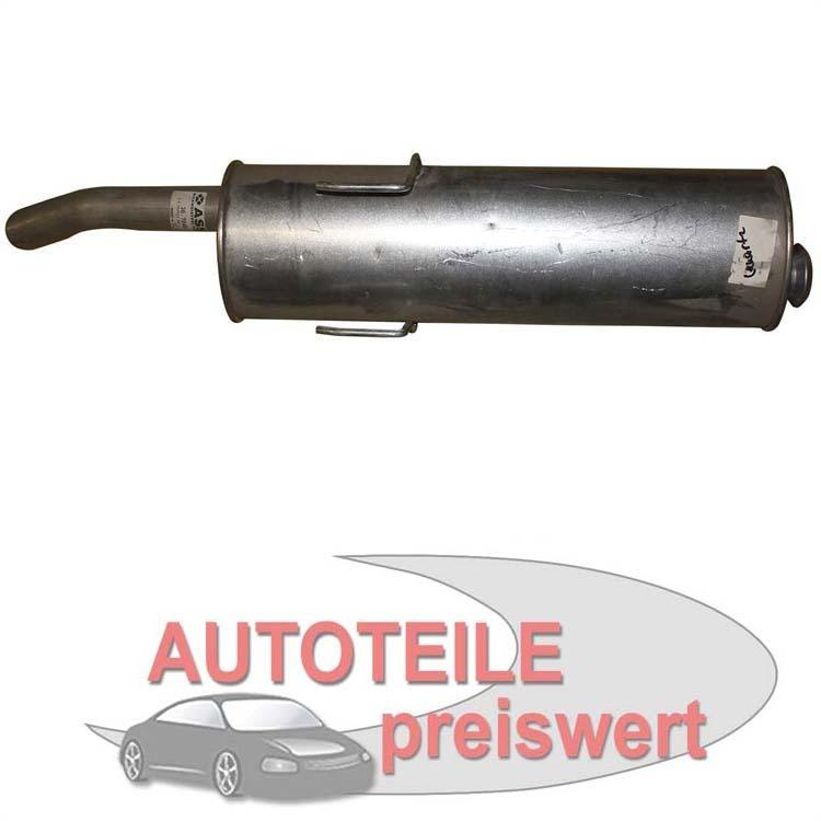 Endschalldämpfer Peugeot 405