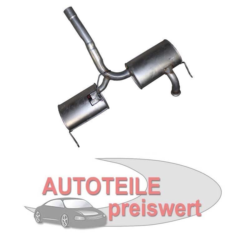 Mittelschalldämpfer Renault Laguna I 2,0 3,0