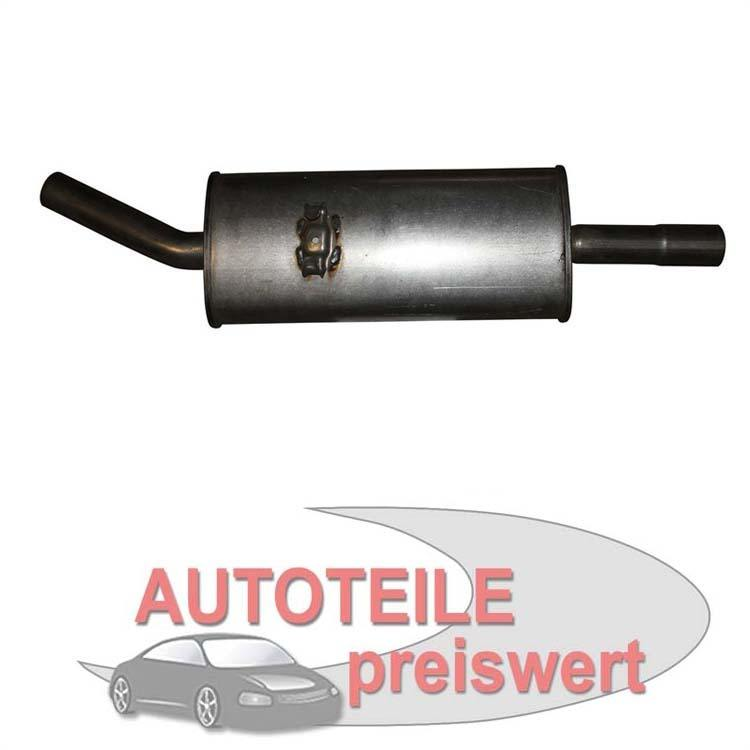 Endschalldämpfer VW Passat Santana