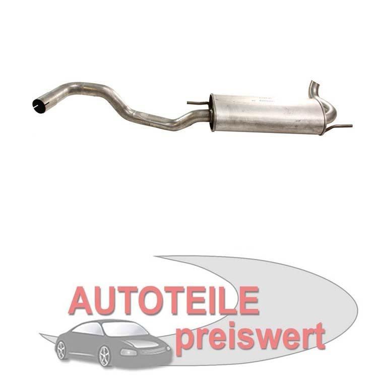 Endschalldämpfer VW Polo 6N 1,9 D AEF