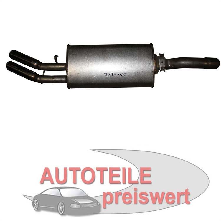 Endschalldämpfer VW Golf