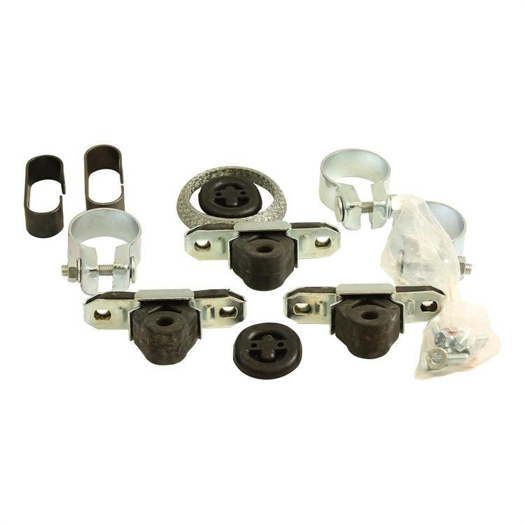 Montagesatz Mittel- Endschalldämpfer 257-479