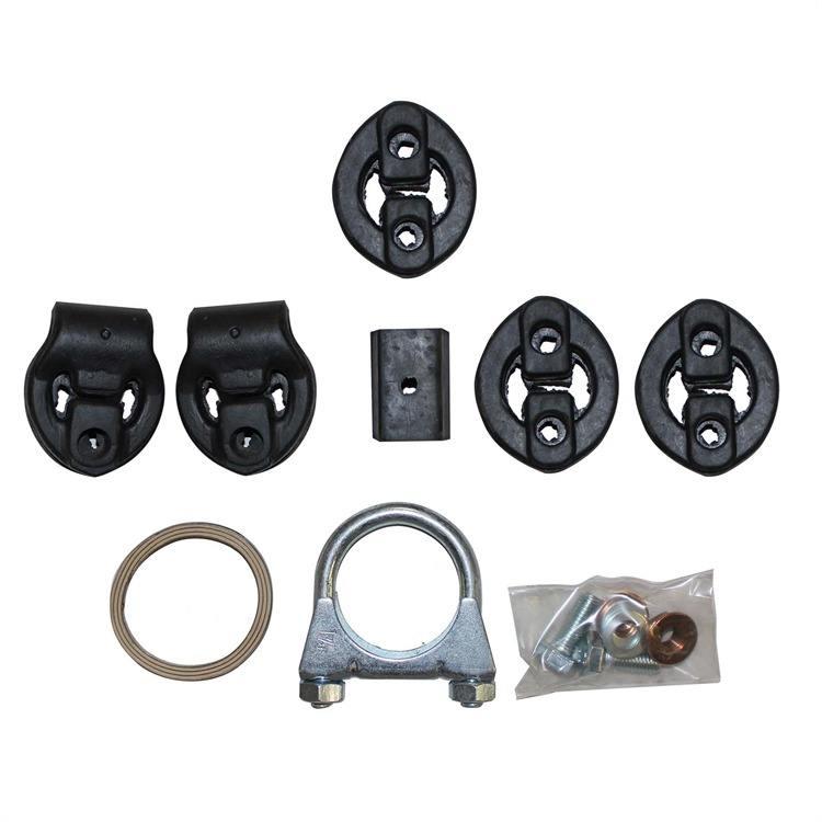 Montagesatz Mittel- Endschalldämpfer 257-534