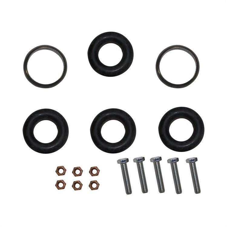Montagesatz Mittel- Endschalldämpfer 257-695