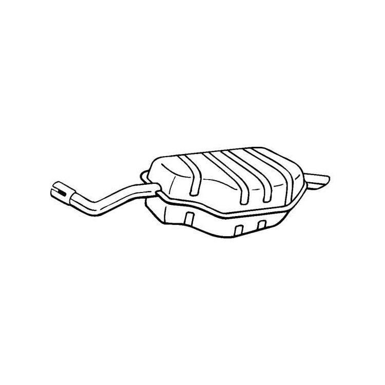 Rover 75 Endschalldämpfer : auspuff f r rover 75 im shop kaufen rover 75 ~ Kayakingforconservation.com Haus und Dekorationen