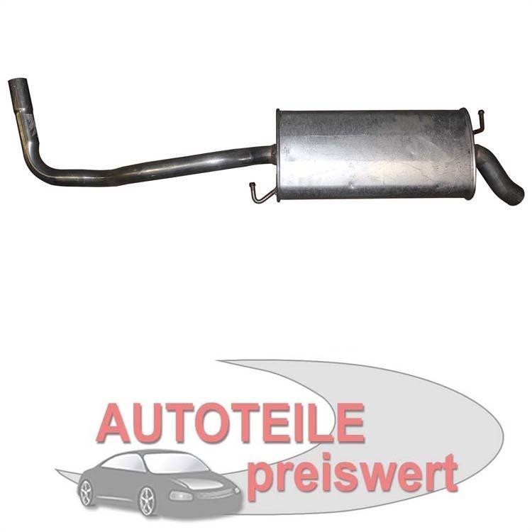 Endschalldämpfer Seat Ibiza 6K 1.0 1.4 1.9 Diesel