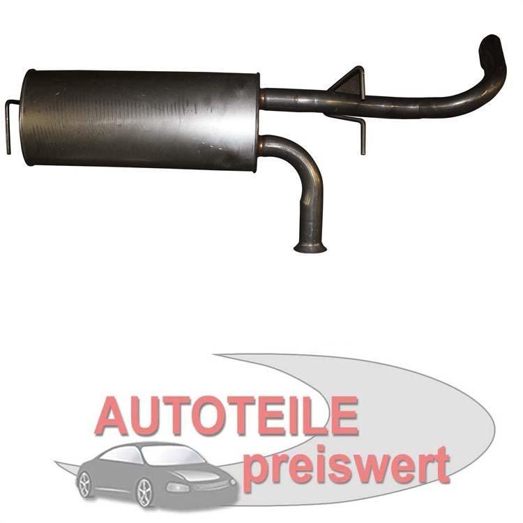 Endschalldämpfer Opel Movano Renault Master