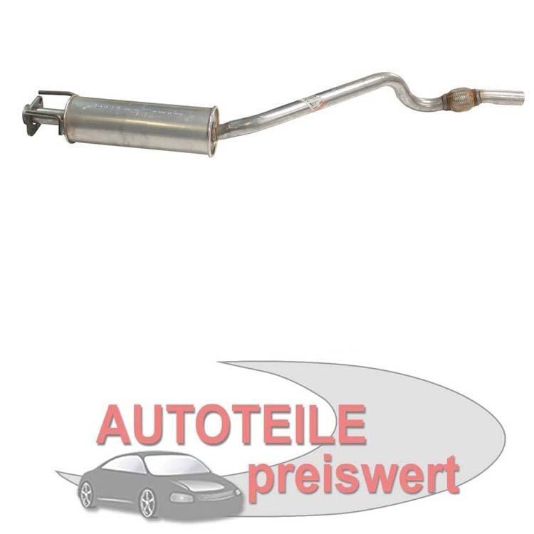 Mittelschalldämpfer Opel Astra F 1.4 1.6