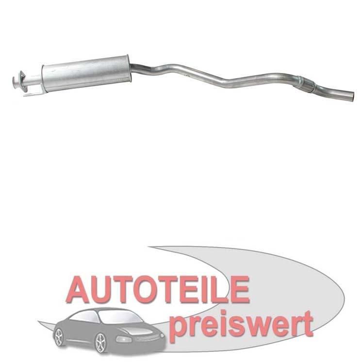 Mittelschalldämpfer Opel Astra