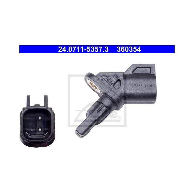 ATE Sensor Raddrehzahl vorne 24.0711-5357.3 im Autoteile Preiswert Shop kaufen und sparen!