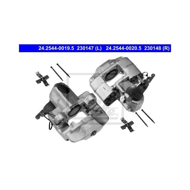ATE Bremssattel hinten links 24.2544-0019.5 im Autoteile Preiswert Shop kaufen und sparen!