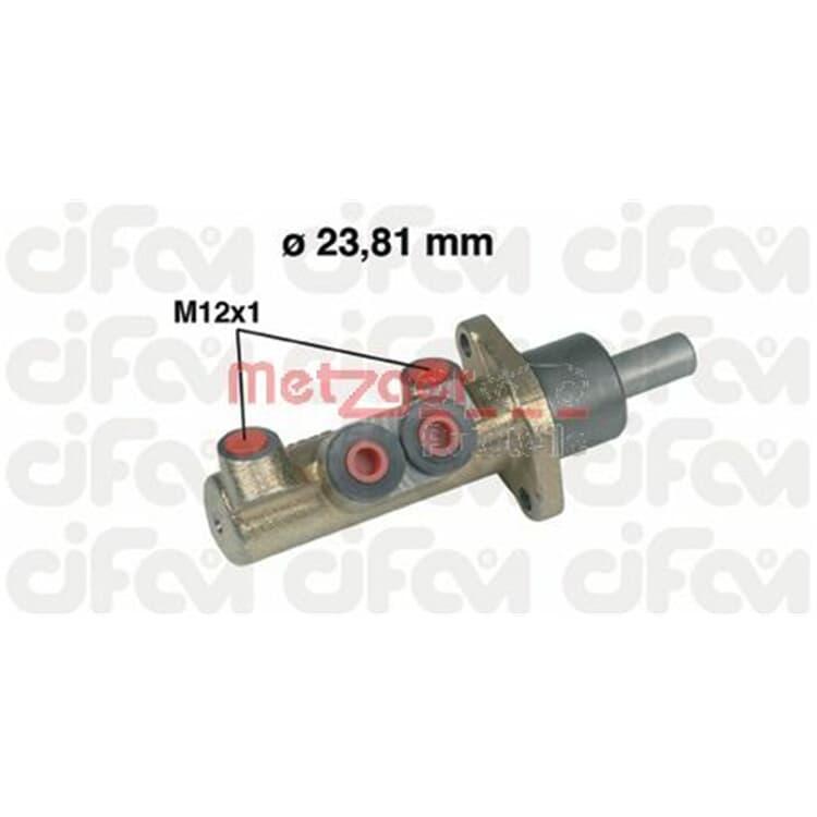 Metzger Hauptbremszylinder 202-311 im Autoteile Preiswert Shop kaufen und sparen!