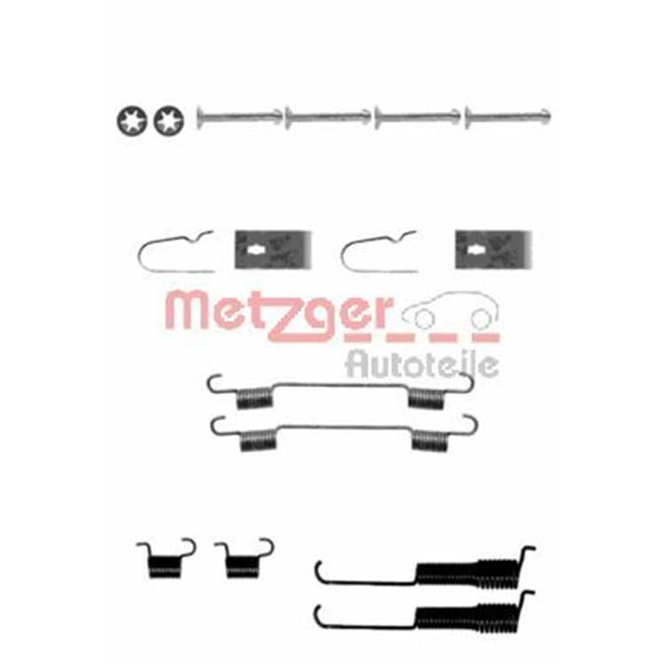 Metzger Zubehörsatz Bremsbacken 105-0800 im Autoteile Preiswert Shop kaufen und sparen!