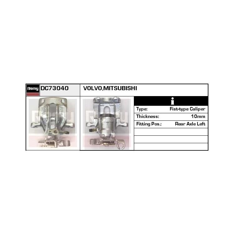 Bremssattel hinten links DC73040 im Autoteile Preiswert Shop kaufen und sparen!