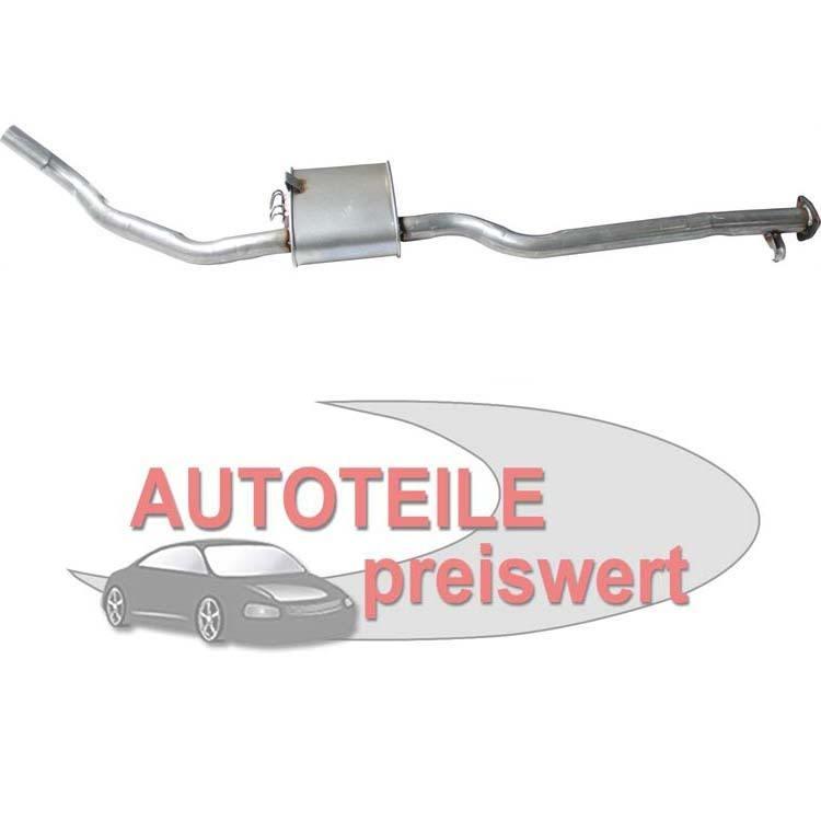 Mittelschalldämpfer Opel Calibra