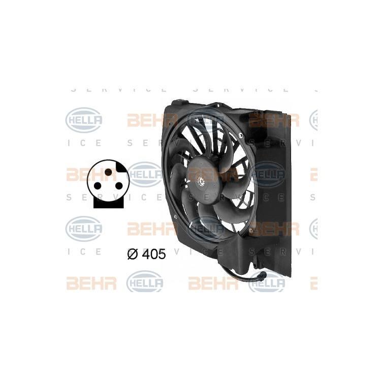 Hella Elektromotor für Innenraumgebläse BMW 3er Z3