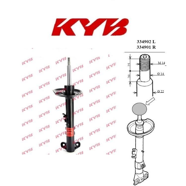 Kayaba Stoßdämpfer Excel-G Gas vorne links 334902 online günstig Autoteile kaufen