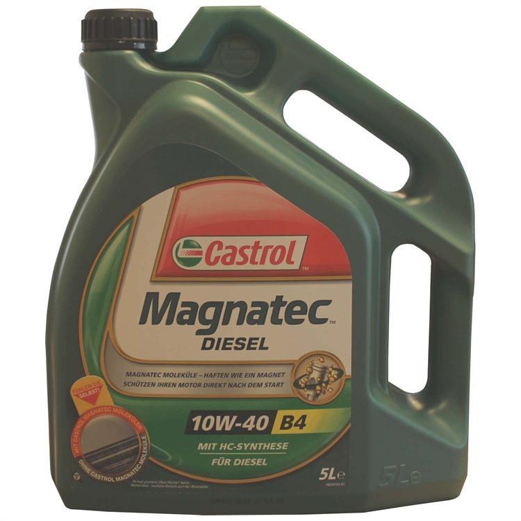 castrol magnatec diesel 10w40 b3 5 liter fiat vw 50101 50500. Black Bedroom Furniture Sets. Home Design Ideas