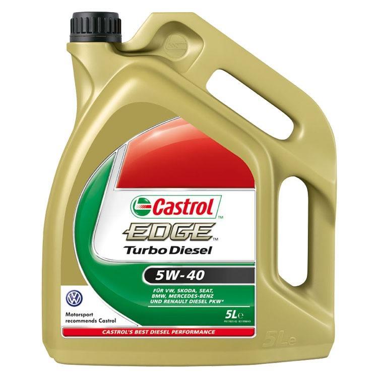 Castrol EDGE Turbo Diesel 5W40 FST 5 Liter