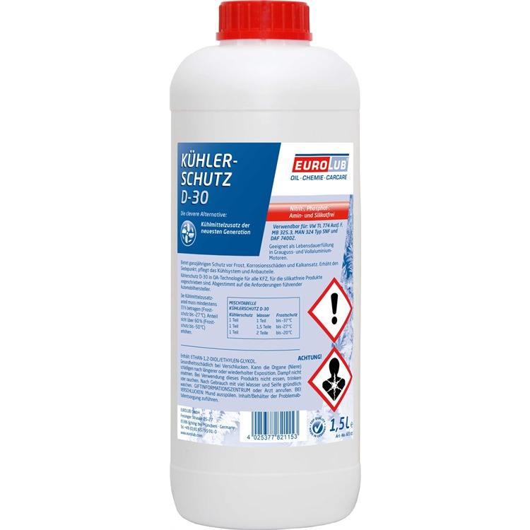 Eurolub Frostschutz G12 rot 1,5 Liter