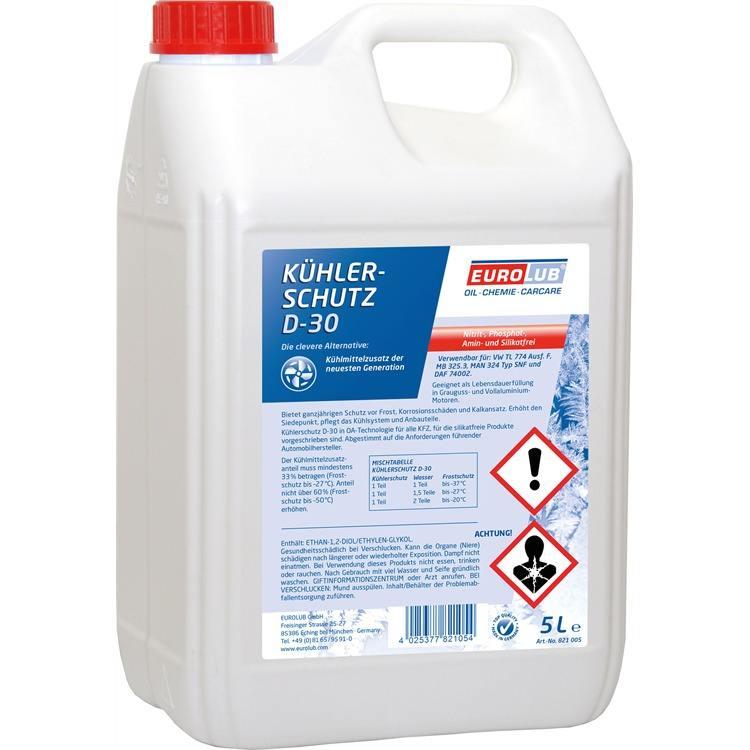 5 Liter Eurolub Kühlerfrostschutz D-30