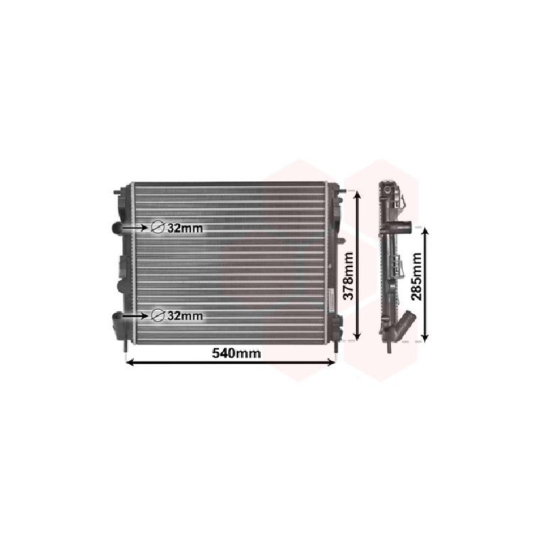 Van Wezel Wasserkühler 43002269 im Autoteile Preiswert Shop kaufen und sparen!