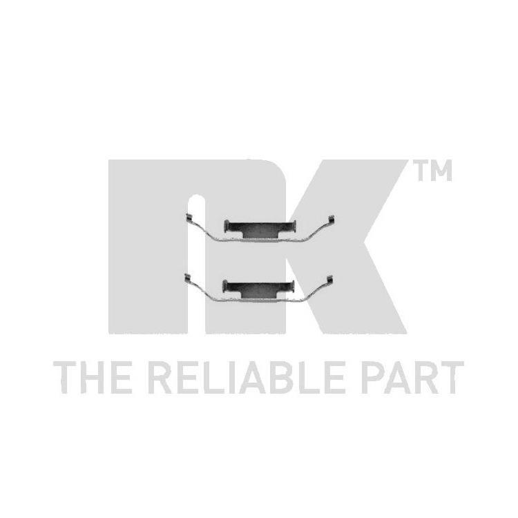 nk zubeh rsatz f r bremsbel ge hinten bmw 1er 3er 5er 7er. Black Bedroom Furniture Sets. Home Design Ideas