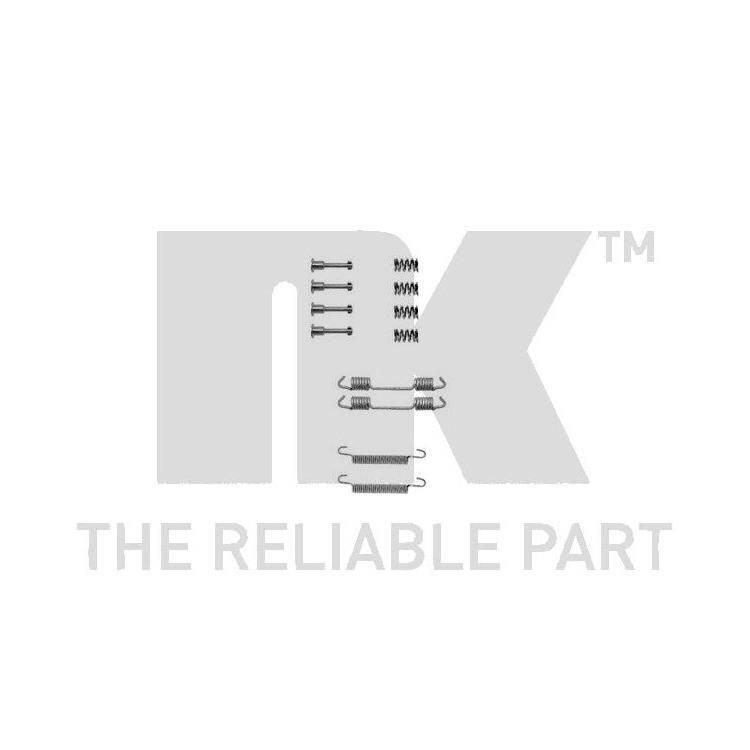 NK Zubehörsatz für Bremsbacken hinten BMW 3er Z1 Z3 Z4