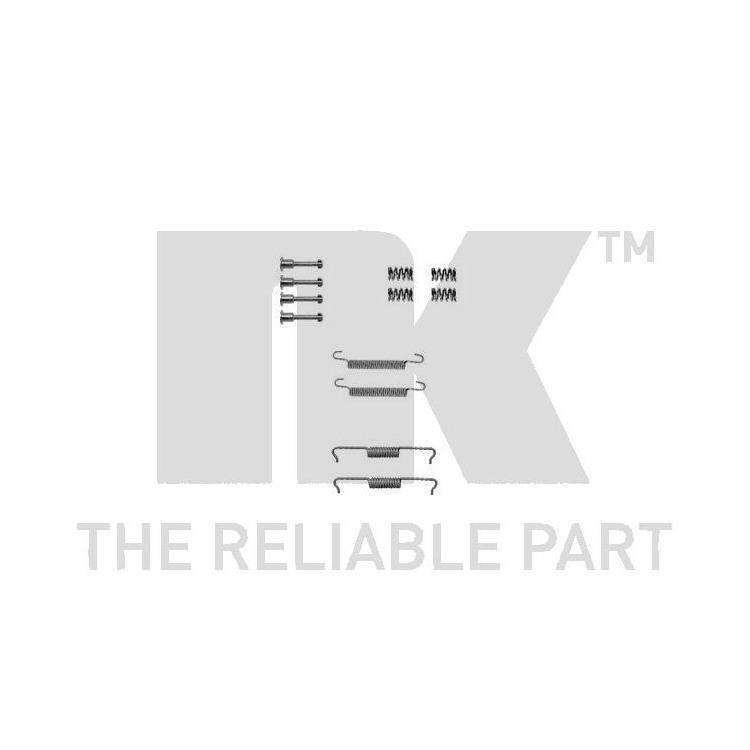 NK Zubehörsatz für Bremsbacken hinten Audi Q7  BMW E46  Mercedes Benz M-Klasse VW T5