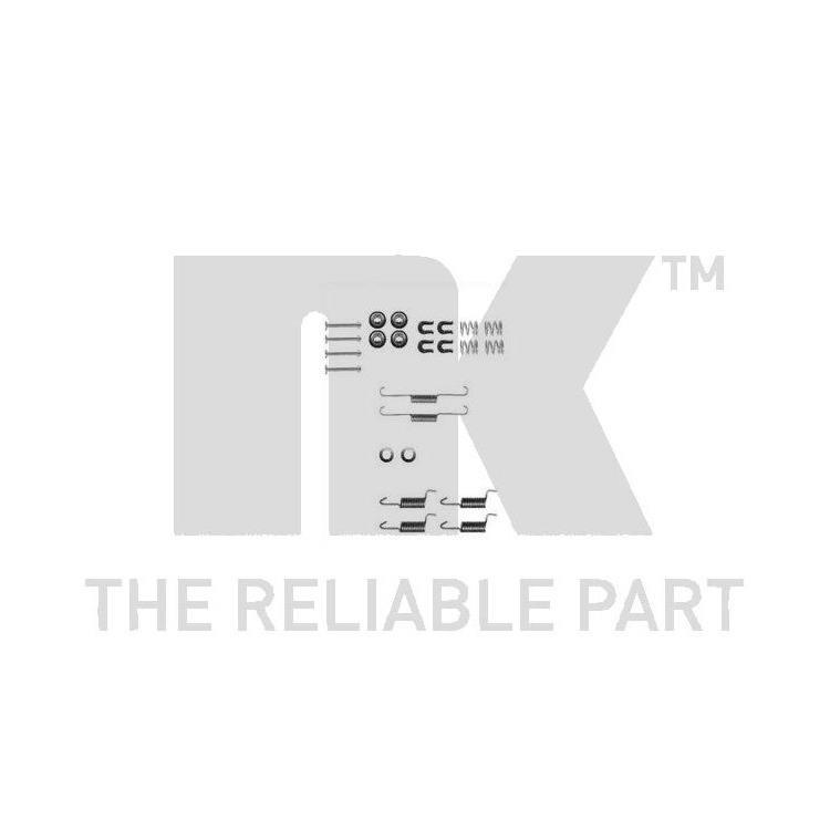 NK Zubehörsatz für Bremsbacken hinten Mitsubishi Eclipse II Galant V VI Outlander