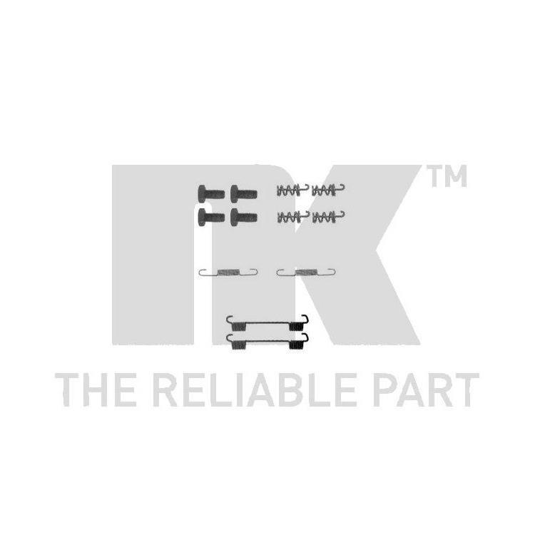 NK Zubehörsatz für Bremsbacken hinten Mercedes-Benz 190 A B C E V-Klasse Vito Buss