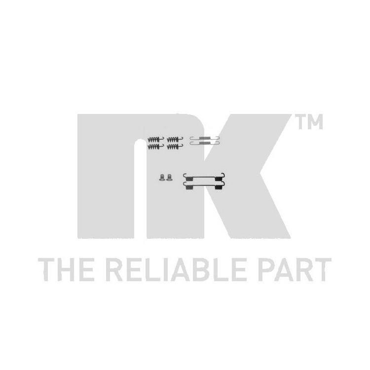 NK Zubehörsatz für Bremsbacken hinten Chrysler Crossfire Mercedes-Benz C E-Klasse CLS