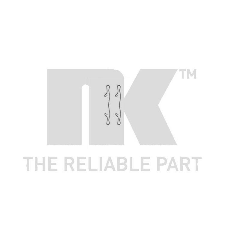 nk zubeh rsatz f r bremsbel ge hinten audi a3 ford c max. Black Bedroom Furniture Sets. Home Design Ideas