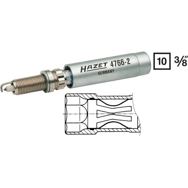 Hazet 3/8 Zoll Zündkerzen Schlüssel 14mm