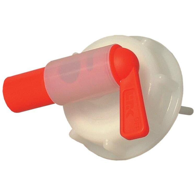 SONAX KunststoffAblasshahn für Kunststoffgebinde