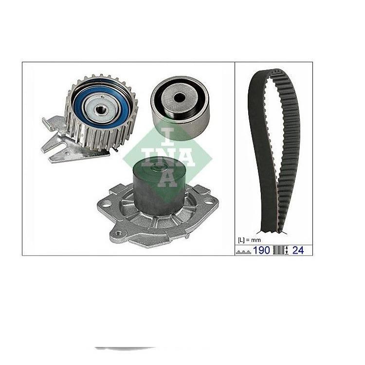 INA Wasserpumpe + Zahnriemensatz Alfa Romeo Fiat Lancia