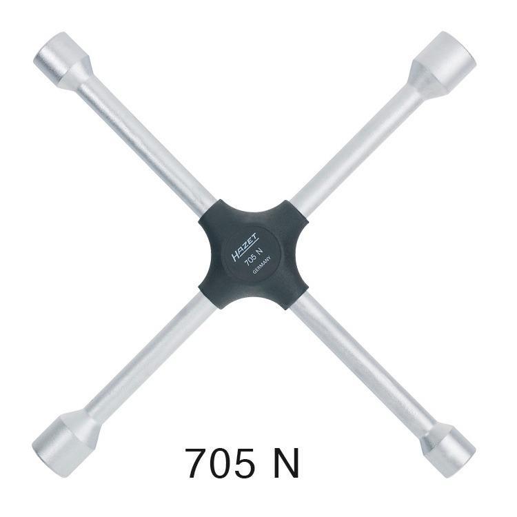 Hazet Radkreuz 17, 19, 21mm und 13/16 Zoll