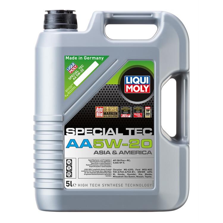 Liqui-Moly Motorenöl 5W20 5 Liter  bei Autoteile Preiswert